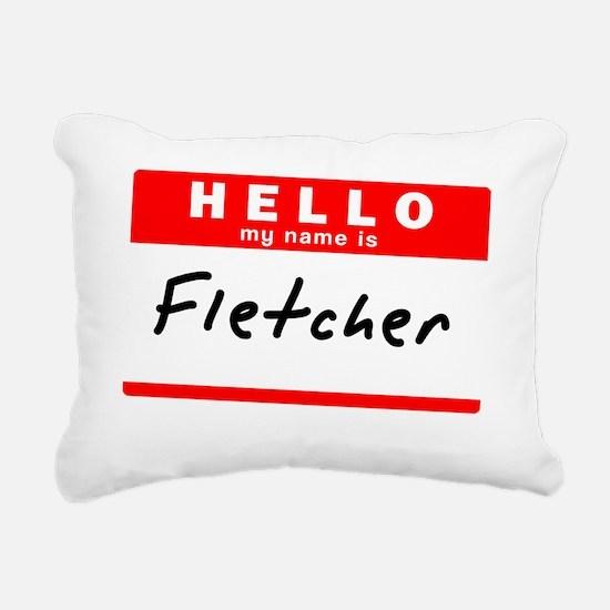 Fletcher Rectangular Canvas Pillow