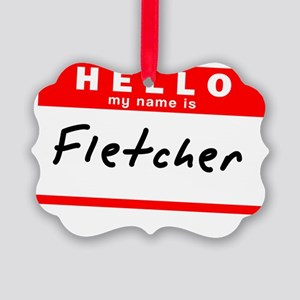Fletcher Picture Ornament