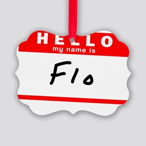 Flo Picture Ornament