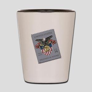 USMA Stamp Shot Glass