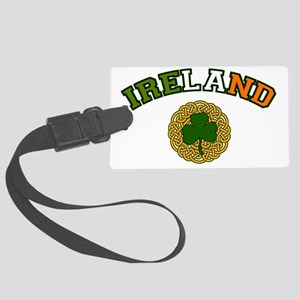 IRELAND-VARSITY Large Luggage Tag