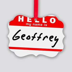 Geoffrey Picture Ornament