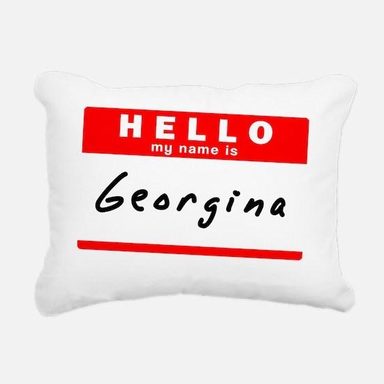 Georgina Rectangular Canvas Pillow