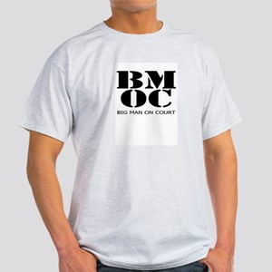 BMOC - Big Man On Court, Ash Grey T-Shirt