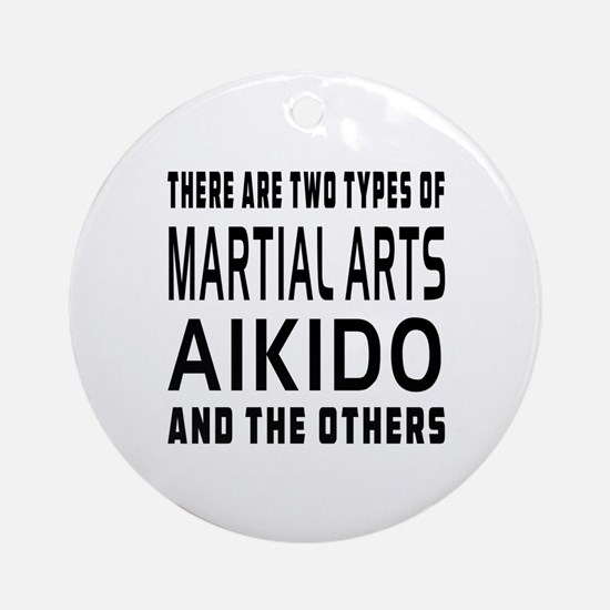Aikido Designs Ornament (Round)