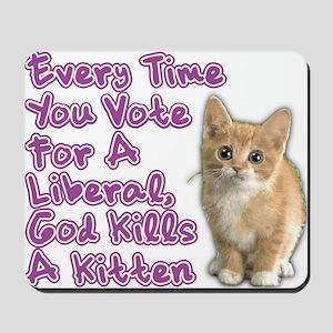 god_kills_a_kittenOL btn Mousepad