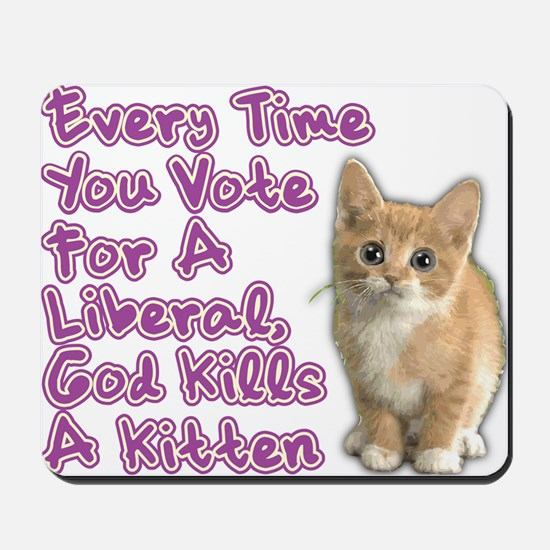 god_kills_a_kittenOL btn Mousepad