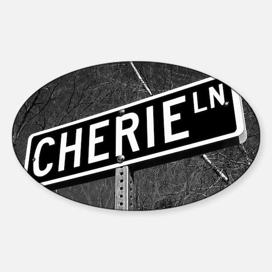 Cherie Sticker (Oval)