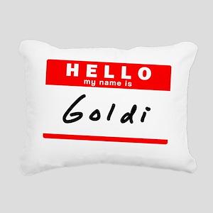 Goldi Rectangular Canvas Pillow