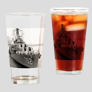 hank framed panel print Drinking Glass