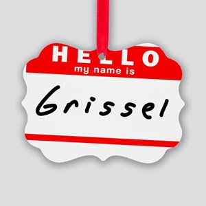 Grissel Picture Ornament
