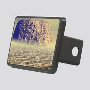 stone_mousepad Rectangular Hitch Cover