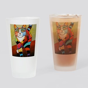 catColorsNew Drinking Glass