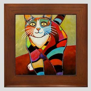 catColorsNew Framed Tile