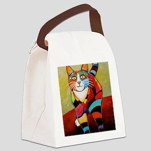 catColorsNew Canvas Lunch Bag