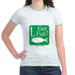 Got Fish? Jr. Ringer T-Shirt