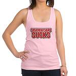 Obamacare Sucks Racerback Tank Top