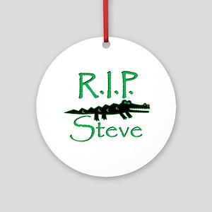 R.I.P. Steve Ornament (Round)