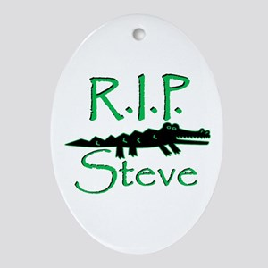 R.I.P. Steve Oval Ornament