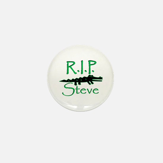 R.I.P. Steve Mini Button