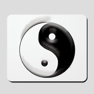 Yin Yang Dragons Mousepad