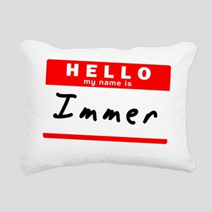 Immer Rectangular Canvas Pillow