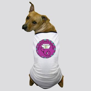 NECKLACE REGISTERED NURSE FUSCHIA Dog T-Shirt