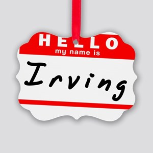 Irving Picture Ornament