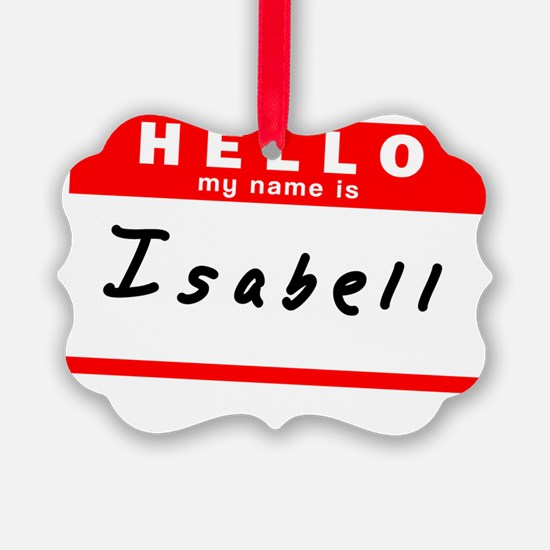 Isabell Ornament