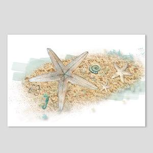 Sea Treasure Postcards (Package of 8)
