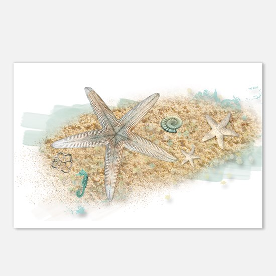 Sea Treasure Postcards (Package of 8)