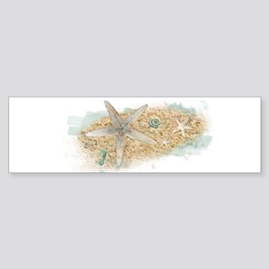 Sea Treasure Bumper Sticker