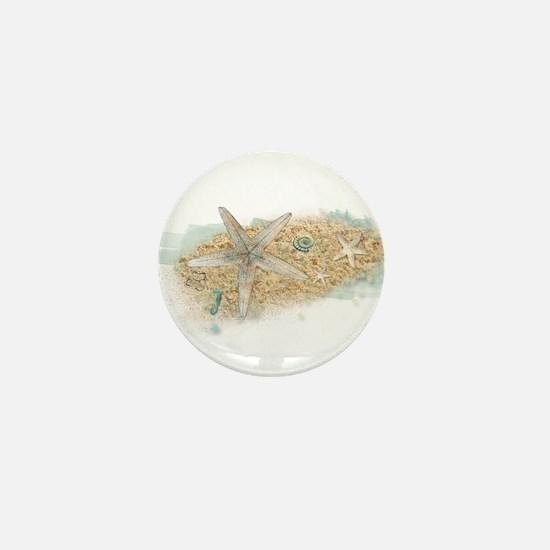 Sea Treasure Mini Button