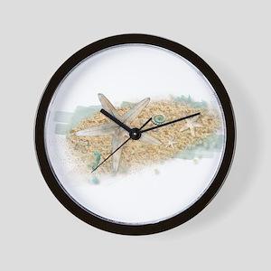 Sea Treasure Wall Clock