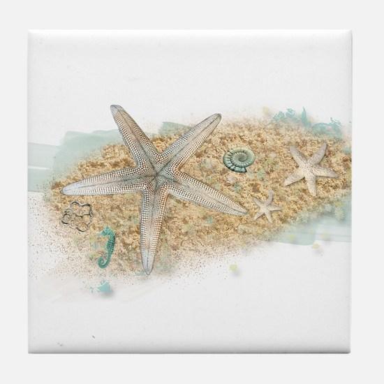 Sea Treasure Tile Coaster