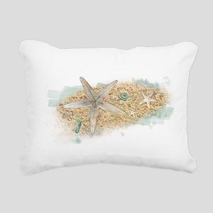 Sea Treasure Rectangular Canvas Pillow