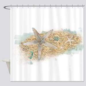 Sea Treasure Shower Curtain