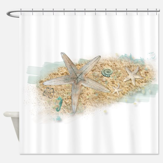 Sea Treasure Shower Curtain