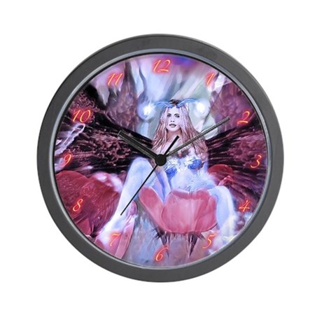 Maiden of the Fairies Wall Clock
