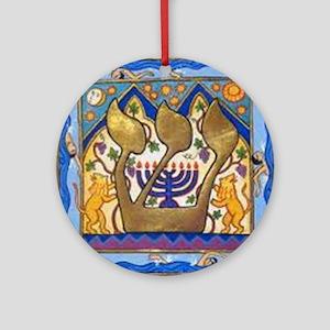 shin1 Round Ornament