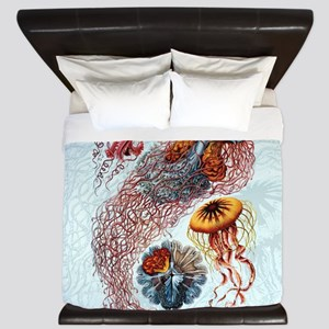 haeckeljellyfish1SC King Duvet