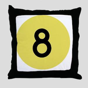 8ballp Throw Pillow