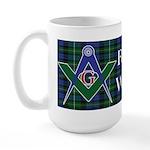 The Masonic Kilt Large Mug