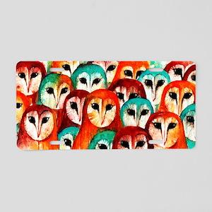 Parliament of Owls Aluminum License Plate