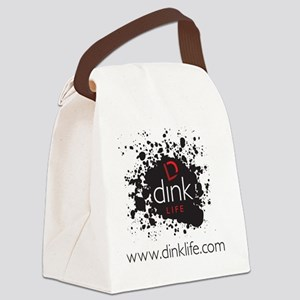 DINKLIFE splatter Canvas Lunch Bag