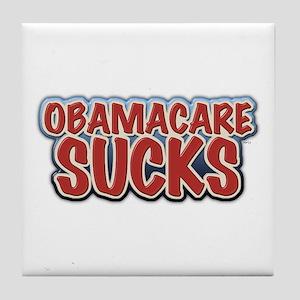 Obamacare Sucks Tile Coaster
