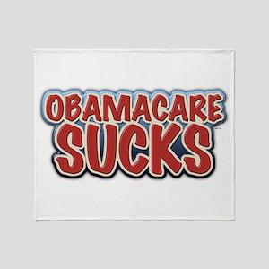 Obamacare Sucks Throw Blanket