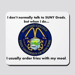 SUNY French Fries Mousepad