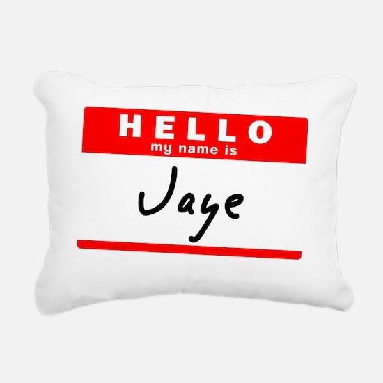 Jaye Rectangular Canvas Pillow