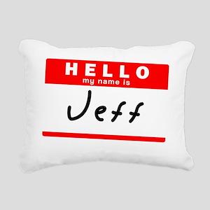 Jeff Rectangular Canvas Pillow
